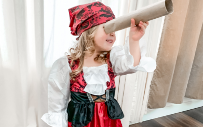 Ahoy Matey! Time for a treasure hunt ft. Little Adventures
